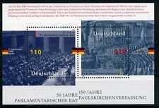Block Bundesrepublik Deutschland Bund Nr: 43 ** 1998 Parlamentarischer Rat BR137