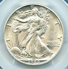 1944-D Walking Liberty Half Dollar, PCGS AU58