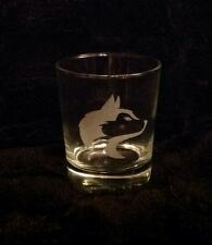 SIBERIAN HUSKY HEAD ETCHED WHISKEY GLASS TUMBLER GIFT PRESENT DOGS DOG SIBE