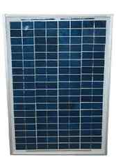 Deluxe 20 Watt Solar Panel KIT with Programmable Regulator and 2 Ft Batt Cable