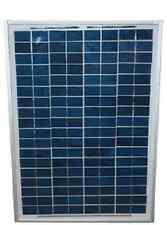 Deluxe 20 Watt Solar Panel Kit With Programmable Regulator And 2 Ft Batt Cable