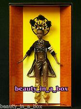 """MOJA Barbie Doll Treasures of Africa Byron Lars African American AA NRFB Wears"""""""