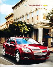 2011 Chevrolet Chevy Malibu 28-page Original Car Sales Brochure Catalog
