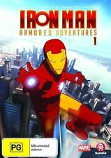 Iron Man: Armored Adventures Volume 1 DVD PAL REGION 4 NEW
