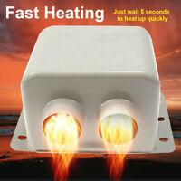 Demister Universal Defrost Windscreen Fast Fan Heater 12V 800W Car Air Heater