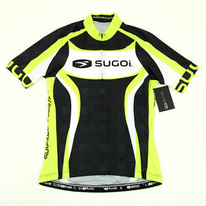 Sugoi RS Team Cycling Short-Sleeve Jersey Cannondale Green/Black/White Small