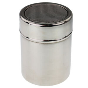 CHOCOLATE SHAKER DUSTER COFFEE FLOUR COCOA SIFTER STAINLESS STEEL - IN-103