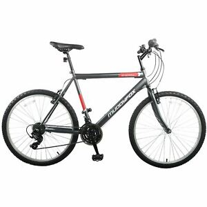 "Muddyfox Mens Energy26 Mountain Bike 26"" Wheels 18 Speed MTB Saddle with Bumpers"