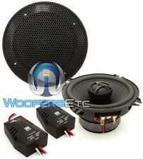 """MOREL TEMPO 5C 5.25"""" INTEGRATED CAR AUDIO 2-WAY COAXIAL SPEAKERS CROSSOVERS NEW"""