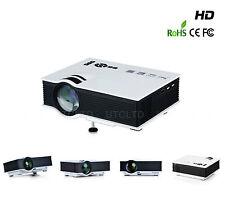 Mini Portable HD LED UC40+ Projector Home Theater Buz VGA USB SD HDMI 800 lumens