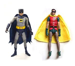 """DC Universe Batman Classics 1966 Tv Series Batman & Robin 6"""" Loose Action Figure"""