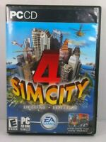 Sim City 4 Deluxe Edition PC CD-ROM Software EA Games  2 Disc Set