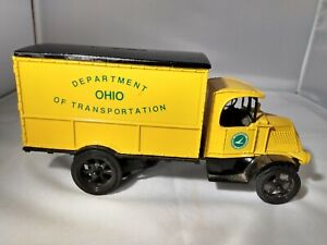 Ertl Ohio Department of Transportation Mack Truck Bank (Metal)