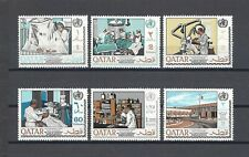 More details for qatar 1968 sg 258/63 mnh cat £31