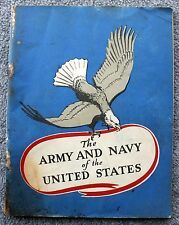1942 ARMY AND NAVY OF THE UNITED STATES WWII World War MILITARY John Hancock