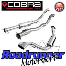 "Vz07a COBRA Astra VXR mk5 3"" Turbo Back Sistema Di Scarico Risonanza & SPORTS CAT"