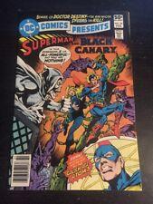 DC Comics Presents#30 Incredible Condition 9.0(1981) Black Canary App!!