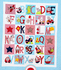 SALE - ABC Boys Quilt - sweet pieced & applique quilt PATTERN - Red Brolly