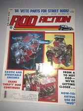Rod Action Magazine '84 Vette Parts For Street Rods July 1983 032917NONRH