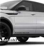 RANGE ROVER LAND ROVER Sport Vinyl decal sticker emblem logo 2 pcs