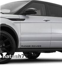 RANGE ROVER LAND ROVER Sport Vinyl decal sticker emblem logo 2 pcs