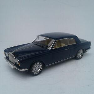 1968 Rolls Royce Silver Shadow Blue 1/18 Diecast Model Car by Paragon