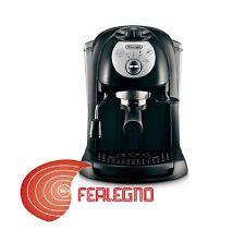 MACCHINA PER CAFFE' MACINATO E CIALDE NERA 1100W CAPPUCCINO ART.EC201.B DELONGHI