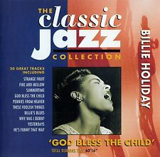 BILLIE HOLIDAY : 'GOD BLESS THE CHILD' / CD - TOP-ZUSTAND