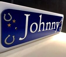 Personalised Horse / Pony Stable Door Sign / Name Plate /Plaque, Great For Tack