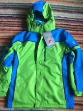 NEVICA MERIBEL GREEN BLUE JUNIOR SKI JACKET AGE 11-12 (LB)   83b76c206