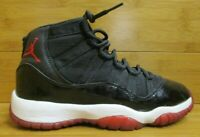 Vtg OG 2001 Nike Air Jordan XI 11 Bred Retro 4.5y 4.5 Black Varsity Red Playoff