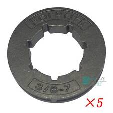 5 x CHAINSAW SPROCKET RIM 3/8 7 tooth for Stihl Husqvarna 5200 52CC 18720