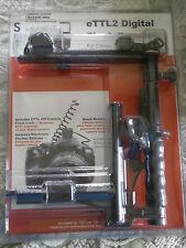 eTTL2 Digital Flash Bracket Canon Rebel XT XTi Series 3.5 mm Jack Left or Right