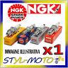 CANDELA NGK SPARK PLUG ILKAR7A7 RENAULT Clio 3 TCE 1.2 74 kW D4F 780 / 784 2007