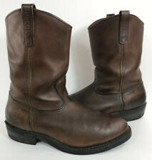 Mens 13D Red Wing Shoes 1114 Western Engineer Brown Leather Work Pecos Boots USA