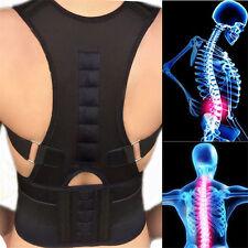 Magnetic Posture Corrector Belt for Lumbar Lower Back Support Shoulder Brace HU