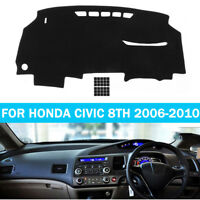 Car Dashboard Cover Dashmat Sun Dash Mat Carpet Pad For Honda Civic 2006-2010