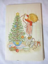1971/73 Hallmark Betsey Clark Christmas Stationery In Original Folder