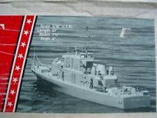 rc modellbau schiffe bausatz mit beslagsatz 2105  USS Crockett holzbau 1218