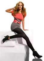 "One Size Grey NEW /""Gatta/"" Gambaletti Grigio Knee Length Diamond Pattern Socks"