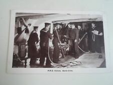 H.M.S. VICTORY.  Gun's Crew.  Gale & Polden Ltd Postcard  Franked 1924   §A2353