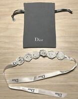 Dior roses plissee bracelet Rare 50 cm New in pouch *Rare*
