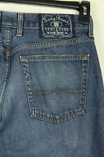 Lucky Brand Dungarees Men's Classic Fit Short Length Blue Jeans Size 32