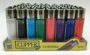 5x Clipper Lighter Mini Classic Micro Super Cigarette Lighter your Colour Choice