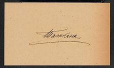 Grand Duchess Tatiana Romanov Autograph Reprint On Genuine 1910s 3x5 Card