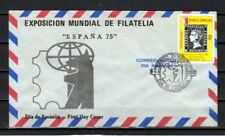 Dominican Rep., Scott cat. C277. Espana Stamp Expo issue. First Day cover