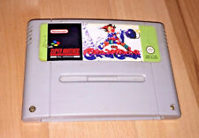 Kid Klown In Crazy Chase For Super Nintendo / Snes Game Cartridge PAL