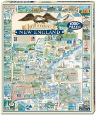 Historic New England 1000 piece jigsaw puzzle  760mm x 610mm  (wmp)
