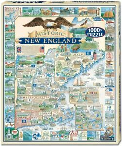 Historic New England 1000 piece jigsaw puzzle  760mm x 610mm  (wmp)