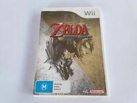 Mint Disc Nintendo Wii Legend of Zelda Twilight Princess Wii U Free Postage